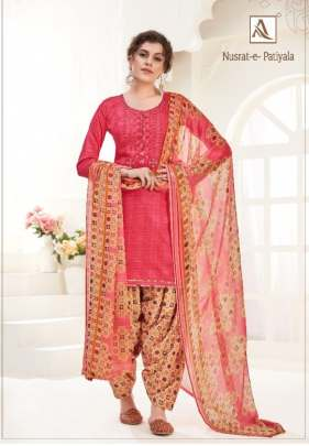 Alok presents Nusrat-E-Patiyala Designer suits