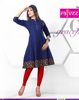 Anarkali : Rajvee Kurti Catalogue