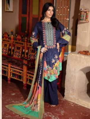 Anaya Luxury Lawn Collection Karachi Dress Material