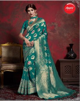 Maher vol 1 by apple fashion silk sarees catalogue