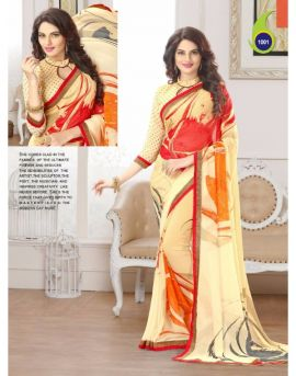 Arohi wholesale printed sarees in wholesale textile