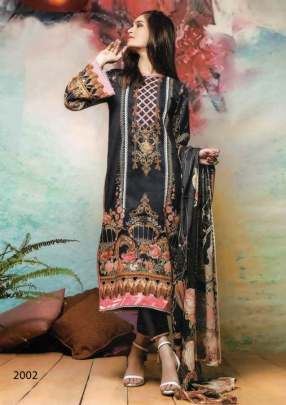 Asifa Nabeel vol 2  Karachi Dress Material