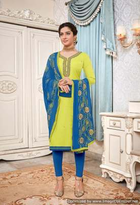 Avc presents Surbhi Designer Dress Material