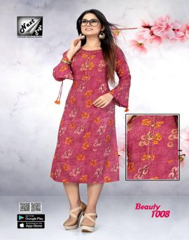 Beauty vol 1 next page causal wear kurti catalogue