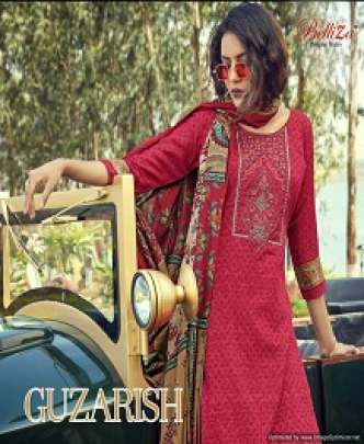 BELLIZA GUZARISH KASHMIRI EMBROIDERED DESIGNER JAM