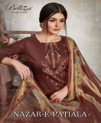 BELLIZA NAZAR-E-PATIALA EMBROIDERED