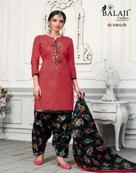 Balaji by Rasberry Patiyala 2 cotton printed dress material
