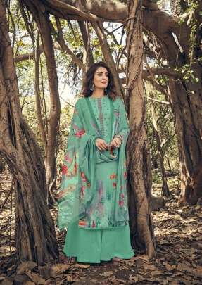 Belliza presents  Layla Ethnic Wear  Dress Materials
