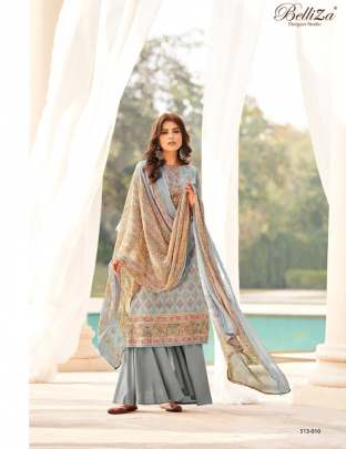 Belliza presents Riwaaz Fancy Designer Dress Material