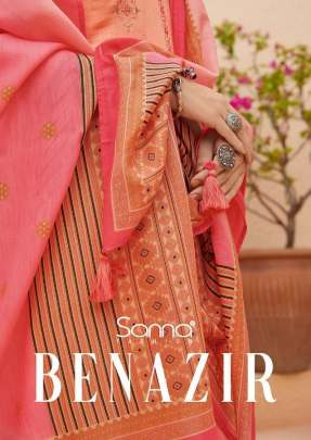 Benazir Designer  Dress Material