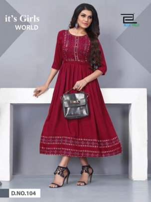 Blue Hills presents Shivi  fancy Kurtis Collection