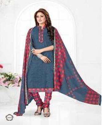 COTTON PLUS MEERA 26 CASUAL WEAR PRINTED