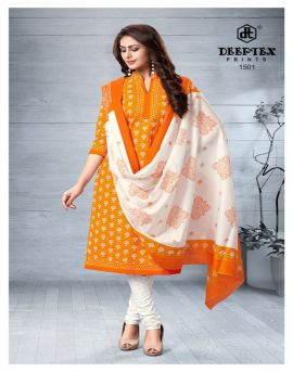 Deeptex by Chief Guest vol 15 Cotton Dress Material collection