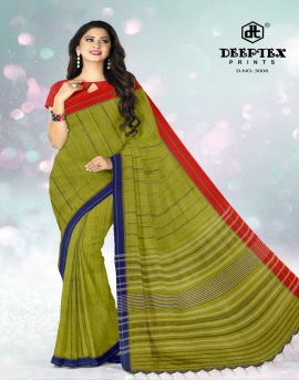 Deeptex present Ikkat Special vol 3 Pure Cotton Printed Saree