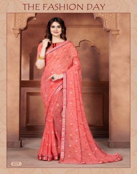 Dipika Weight less casual wear sarees catalogue