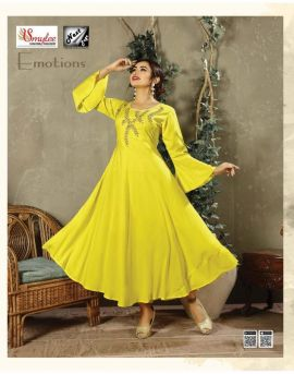 Emotions by next page party wear kurti wholesale rate