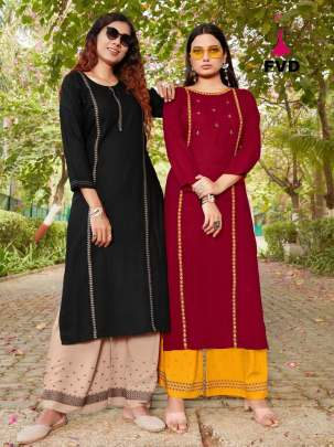 FVD present New pari vol 1 Designer Kurti With Bottom Collection
