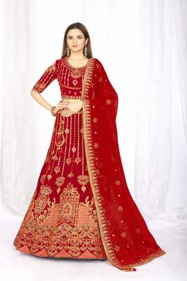 Fc launching Red Lehengas Designs For Women