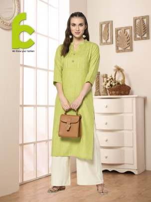 Fc presents  Rayon-Flex Casual Wear Stylish Kurti