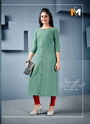 Fc presents Swara-1001  casual wear Kurtis collection