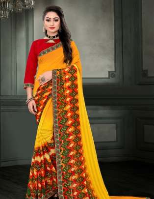 Fc presents pankhuri  Casual Wear Saree Collection