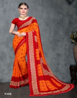 Ganga by kodas group daily wear sarees catalogue