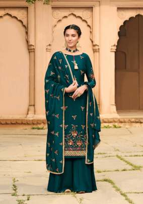 Glossy presents  Gulaal 1125 Series Designer Dress Material