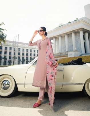 Glossy  presents Saira   Designer Salwar Suits Collection