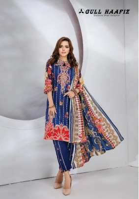 Gull Haafiz  Karachi Dress Material