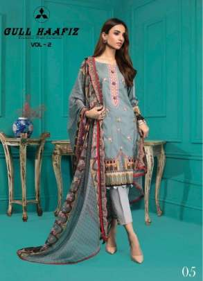 Gull Haafiz vol 2 Karachi Dress Material