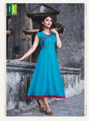 Hirwa presents Kesariya vol 3 Stylish Kurti Collection