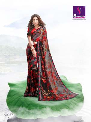Inox 7 Shangrila Georgette Saree Set