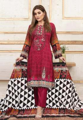 Iris vol 7 Printed Karachi Dress Material