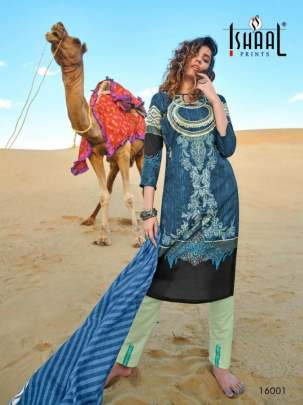 Ishaal Gulmohar vol  16 Karachi Dress Material