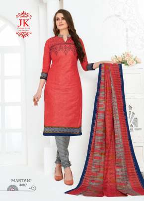 Jk presents Mastani vol 4  Printed Dress Material