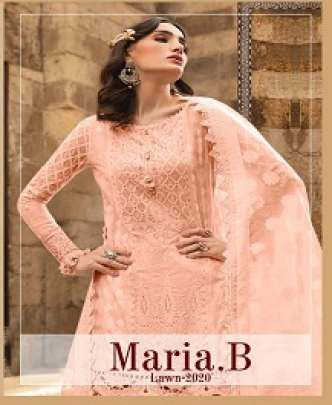 KAARA MARIA B LAWN 2020 EMBROIDERED PURE COTTON
