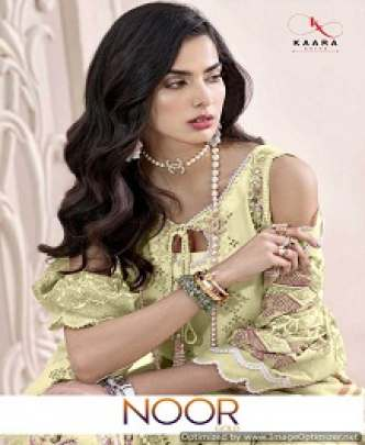 KAARA NOOR EMBROIDERED COTTON