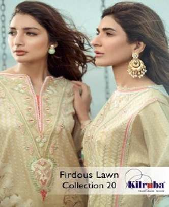 KILRUBA FIRDOUS DIGITAL PRINTED & EMBROIDERED