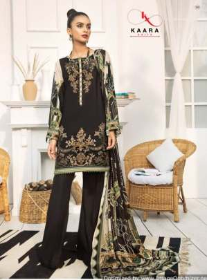 Kaara presents  Firdous Lawn Collection vol  4 Pakistani Suits