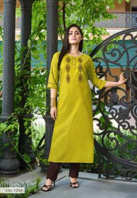 Kanika presents  Aditi vol 7  Daily Wear Kurti Collection