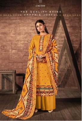 Kesar presents  Aayat Designer Dress Material