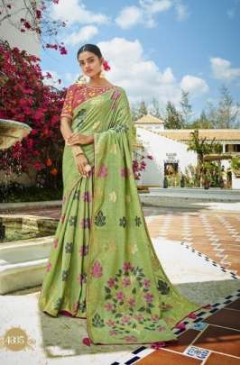 KessiPresent  Garden Silk    designer sarees collection