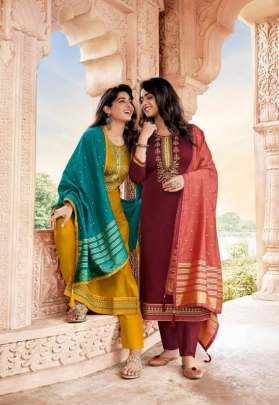 Kessi presents  Sahenaj Designer  Dress Material
