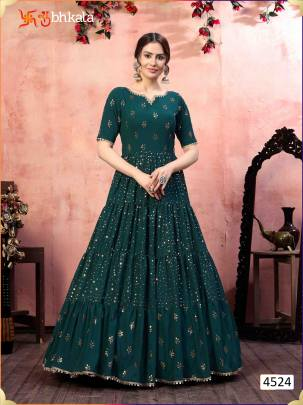 Kf  presents Flory  vol  12 Exclusive Designer Ladies Gown Collection