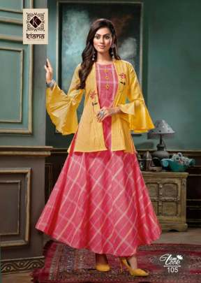 Kiana presents  Glam Look Heavy Kurti Collection