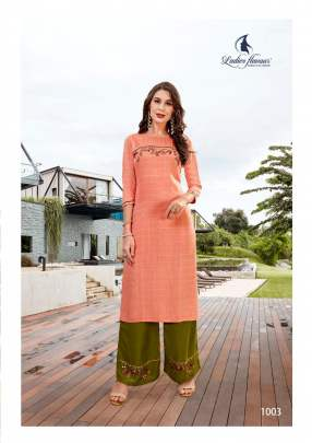 Ladies Flavour presents Lilly  kurti with bottom collection