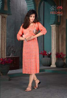 Lilly presents Feeding Designer Kurtis Collection