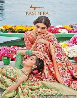 Kashmira by LT fashion traditional sarees catalogue