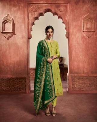 Lt Nitya 162 Designer Heavy Salwar Suits Collection