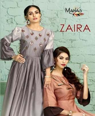 MANAS ZAIRA SILK HANDWORK TRADITIONAL
